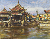 A Tea House, Shanghai, circa 1909