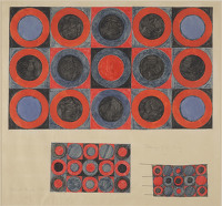 Design for Hooked Rug, 1965