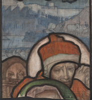 Study for central panel of Nativity...