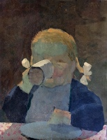 Portrait of Sasha, aged four 1951