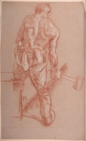 Study of a blacksmith