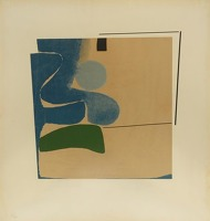 Paintings by the artist Victor Pasmore
