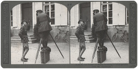Stereoscopic print: H.R.H. the...