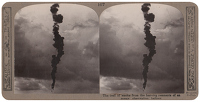 Stereoscopic print: The trail of...