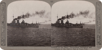 Stereoscopic print: Triumph of our Navy