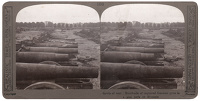 Stereoscopic print; Hundreds of...