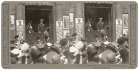 Stereoscopic print: Lord Kitchener...