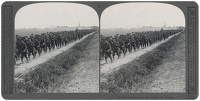 Stereoscopic print: North Staffords...