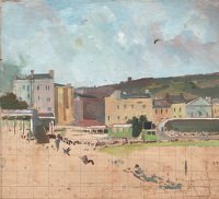 Study for Hastings Cricket Ground