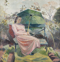 Portrait of Evelyn Dunbar