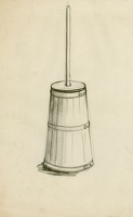 Study of a butter churn
