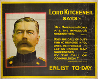Lord Kitchener Says... Enlist Today