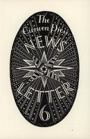 Design for The Curwen Press News-Letter