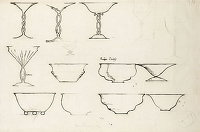 Glass and Bowl Designs, c. 1930