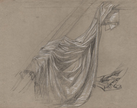 Drapery Study for a Station of the...