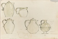 Sheet of Coffeepot and Jug Designs