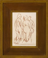 Study of Three Nude Women & The...