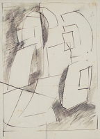 Study for Fugue, circa 1953