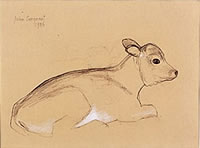 Study of a Calf, mid 1980s
