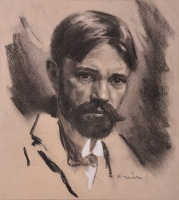 Portrait of D.H. Lawrence (1885-1930)