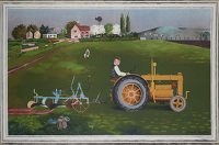 Tractor in Landscape, 1945
