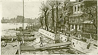 View from Hammersmith Bridge of...