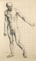 Adam, Study for the Expulsion, 1927
