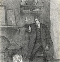 Self Portrait, January 26th, 1914