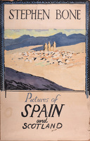 Design for poster; Pictures of Spain...