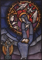 Design for Stained Glass Panel