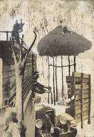 Artist David Evans: Its Raining, Its Pouring