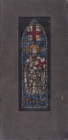 Saint George; design for stain glass...