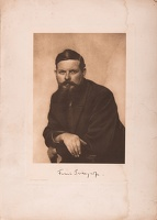 Photographic portrait of Frank Brangwyn