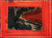 Paintings by the artist Howard Hodgkin