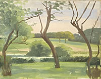 Landscape around Leyswood, late 1940s