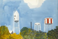 Water Towers, Georgia, 1959