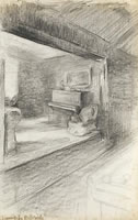 The Artist's Sitting Room, circa 1890