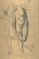 Study for Allegory, mid 1920's
