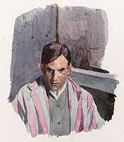 Self-portrait, circa 1918